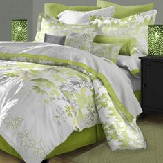 Karin Maki Lime Green Zebra Bedding - Best Sales and Prices Online! Home Decorating Company has Karin Maki Lime Green Zebra Bedding Lime Green Bedding, Lime Green Bedrooms, Bedroom Green, Bedroom Colors, Home Bedroom, Bedroom Decor, Bedroom Ideas, Master Bedroom, Style At Home