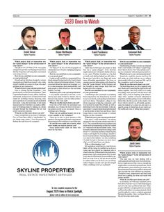 Skyline Properties announced as NYREJ Company of... - SKYLINE PROPERTIES