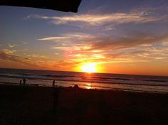 Sunset in Del Mar California
