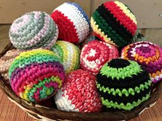Ravelry: Hacky Sack/Foot Bag/Bean Bag Pattern pattern by Gramma Beans