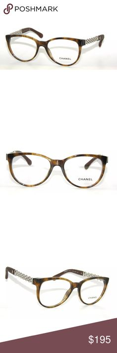 20cad20d0f9e ☀️Chanel 3321Q Light Havana Glasses Frame Excellent Condition