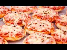 Receita de Mini Pizza  - Receita da minha Mãe                              …