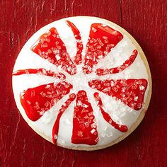 Peppermint Circle Sugar Cookies From Better Homes and Gardens, ideas and improvement projects for your home and garden plus recipes and entertaining ideas.