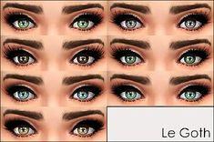 Mod The Sims - Le Goth -7 mascaras-