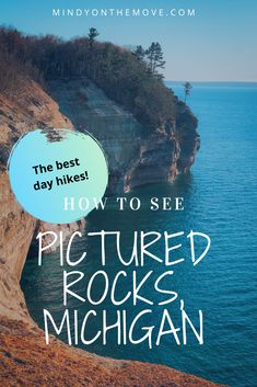 Are you dreaming of exploring Pictured Rocks National Lakeshore in Upper Peninsula Michigan but unsure how to see it by foot? In this post, I'll give you the best and must-hike trails that will take you to the most breathtaking scenery this park has to offer. #puremichigan #michigan #usatravel #traveltips #hiking #hikingtrails #getoutside #travelideas #naturelovers #nationalparks
