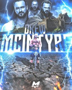 Ufc, Scottish Man, Drew Mcintyre, Wwe Wallpapers, Wwe Champions, Wrestling Wwe, Big Daddy, Professional Wrestling, Roman Reigns