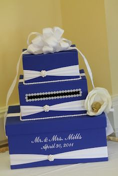 DIY wishing well http://thingsfestive.blogspot.com/2012/08/real-cobalt-blue-wedding-in-bowling.html