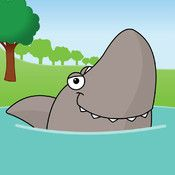 Five Sharks Swimming - counting one to five. View App, Shark Swimming, Eyfs, Sharks, Ipod Touch, Ipad, Counting, Shark