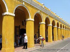 Las Bóvedas de Santa Clara- Cartagena, Colombia