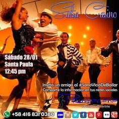 Aprende a Bailar #SalsaCasino en el #2017 Invita un amigo al #SanoVicioDeBailar #Taller #Workshop #Baile #Dance Whatsapp 58 416 831 0380 Inscripciones abiertas ya en www.rumbacana.com