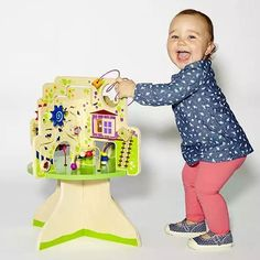 I love this wooden tree  activity toy. It really helped with my baby's balance and then to eventually stand. Read more at www.unddah.com for details.  #baby #babyboy #babygirl #babybump #happybaby #babystuff #mybaby #instababy #babylove #lovemybaby #babystyle #cutebaby #babyshop #babyface #todler #todlers #toys #toysforsale #toyslagram #toystagram #littleman #mybaby #parents #newparents #babybirthday #1stbirthday