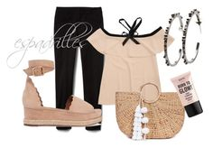 Pale pink by katerinadamilos on Polyvore featuring Chloé, JADE TRIBE and NYX