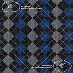Textures Texture seamless | Wool jacquard knitwear texture seamless 19437 | Textures - MATERIALS - FABRICS - Jersey | Sketchuptexture