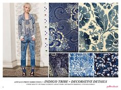 Pattern and print trends 2015 fashion trends color trends floral geometric smudging patterns | I Think Fashion