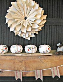 The Painted Home: { Fall Decorating }