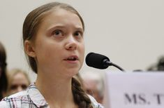"Appearing on Capitol Hill Wednesday, teenage climate activist Greta Thunberg said, ""I want you to unite behind science. Impact Of Global Warming, United Nations General Assembly, Green News, Swedish Girls, Young Leaders, Paris Climate, Keynote Speakers, Self Confidence"