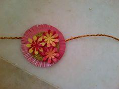 Handmade paper Rakhi!