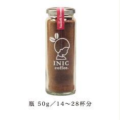 イニックコーヒー スムースアロマ 瓶/14~28杯分|INICコーヒー