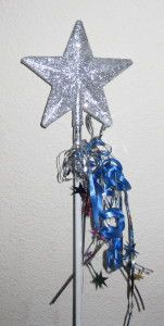Make-A-Wish wand. Great organization. Can't wait to start granting wishes.