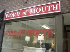 The Power of Word of Mouth