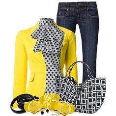 """Lemon Chill"" by stylesbyjoey on Polyvore"