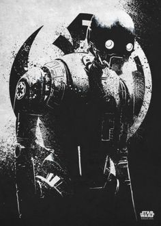 Star Wars K-2SO metal poster - PosterPlate posters made out of metal