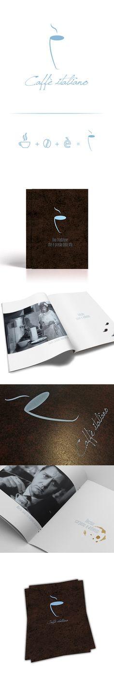 #coffee #brochure #paolademuro #branding #italianmovies #espresso