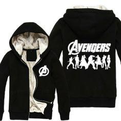 Leecos the Avengers Marvel Thicken Hoodies Black Size M Bust100cm,hoodies Length64cm Leecos,http://www.amazon.com/dp/B00HCF4JQC/ref=cm_sw_r_pi_dp_ZZdSsb1JB4J32A4D