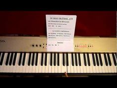 J'apprends le Piano- Lecon de piano N°4- Méthode fa-si-la-jouer-MrTcoura...