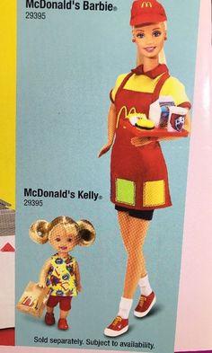 New 2001 Barbie McDonald's Fun Time Restaurant Playset 88811 Mattel | eBay