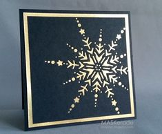Muse 88 - Snowflake by Ardyth - Cards and Paper Crafts at Splitcoaststampers