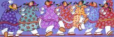 Eskimo Line Dance by Barbara Lavalle