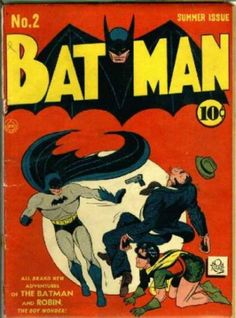 batman all comiic books photos | Golden Age Batman Comic Book Covers #1-5