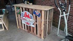 pallets made bar