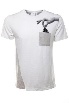 Drink Beer Save Water | Black Handkerchief T-Shirt