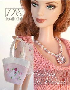Sewing+pattern+for+11+1/2+doll+Barbie+Roses+by+DBDollPatterns,+$6.00