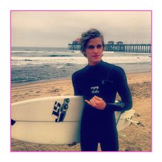 Cody Simpson Goes Surfing In California ❤ liked on Polyvore