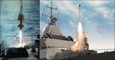Indian Navy successfully test fires Barak 8 missile from INS Kolkata We Are The Mighty, Heavy Machine Gun, Indian Navy, Attack Helicopter, Defence Force, Military Photos, Armada, Special Forces, Boats