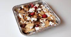 5 desserts parfaits pour le BBQ et le camping Nachos Dessert, Fondant Au Caramel, Dessert Parfait, Waffles, Cereal, Oatmeal, Bbq, Breakfast, Recipes