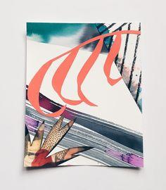 Original Art / Leaf 4 (8x10 inches) — Eva Magill-Oliver