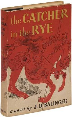 Catcher in the Rye. 1951. #book #design #vintage  - What's a list of books to read without including this classic?