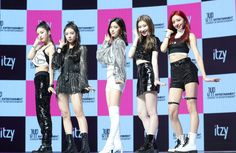 Photo album containing 12 pictures of ITZY South Korean Girls, Korean Girl Groups, Lema, February 12, Cosmic Girls, Beautiful Moments, New Girl, Different, Pop Group