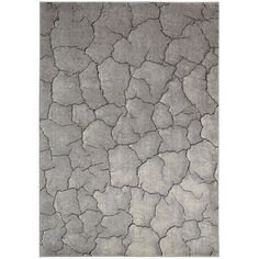 Nourison Utopia Interior Grey Abstract Rug - x (Grey - x - Area Rugs Nourison Rugs, Rectangle Area, Machine Made Rugs, Contemporary Area Rugs, Contemporary Furniture, Rug Material, Indoor Rugs, Accent Rugs, Abstract Pattern