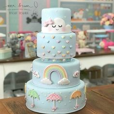 Lindeza de ☁ ☔ Regranned from Schwangerschaft Ankündigung an Ehemann urkomisch Photos and Videos Baby Cakes, Baby Shower Cakes, Girl Cakes, Pretty Cakes, Cute Cakes, Beautiful Cakes, Amazing Cakes, Fun Cupcakes, Cupcake Cookies