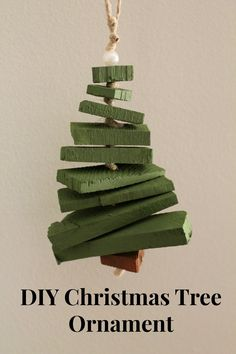 Handmade Christmas Tree Ornament - so cute!