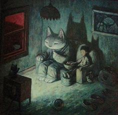 From 'Rules of Summer' by Shaun Tan