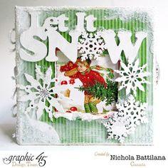 Snowy Mixed Media Box - Nichola Battilana