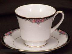 Noritake Belle Empress #3980 Cups & Saucers