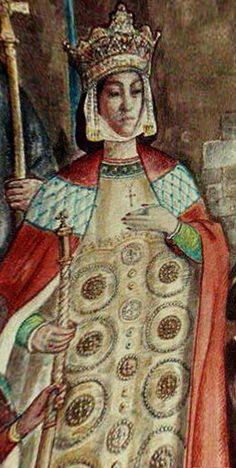 Maria Palaiologina Kantakouzene was a Byzantine princess, niece of emperor Michael VIII Palaiologos, and empress consort of Constantine Tikh of Bulgaria and Ivaylo of Bulgaria.