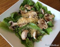 Aprende a preparar ensalada fresca con champiñones con esta rica y fácil receta.  La ensalada fresca con champiñones es un plato ligero, aderezado con una sencilla...